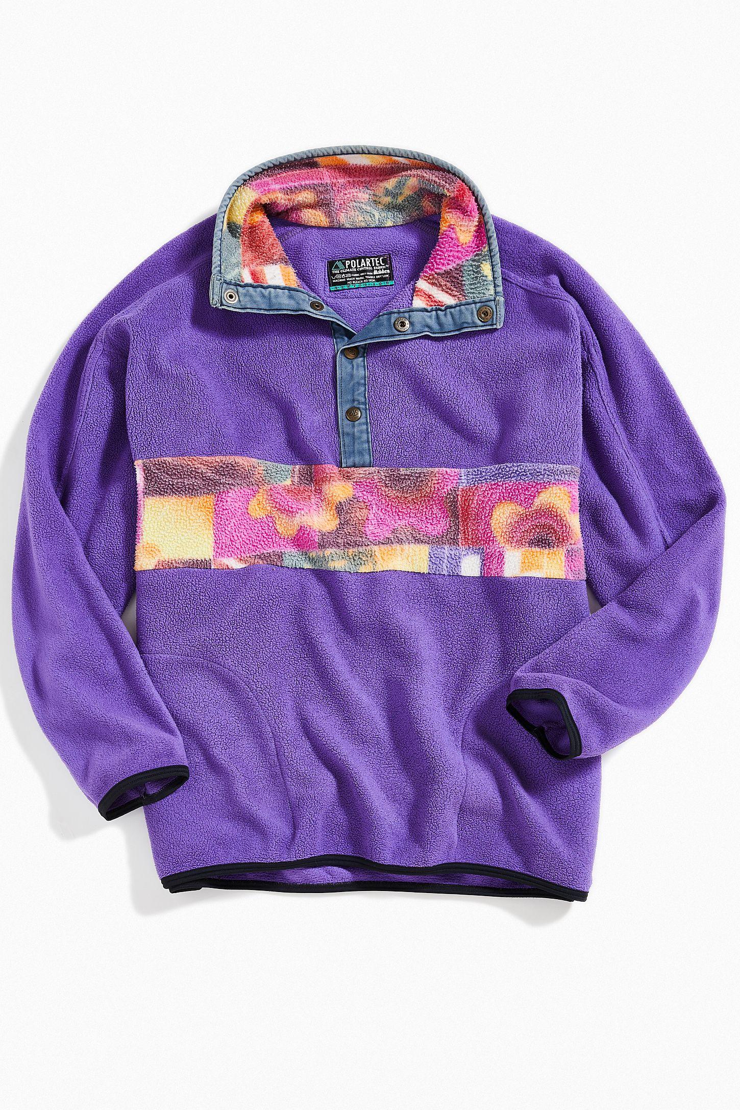 vintage fleece sweatshirt