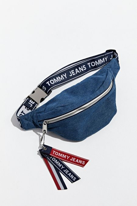 82cd327da25 Tommy Jeans Logo Tape Sling Bag