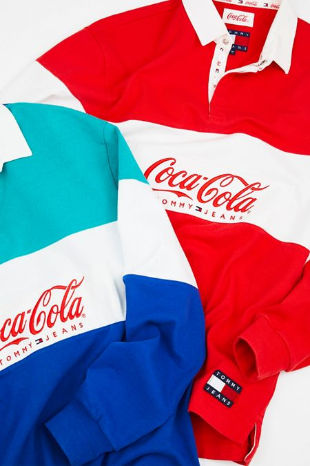 5dd08d5dbf5 Tommy Jeans X Coca-Cola Rugby Shirt