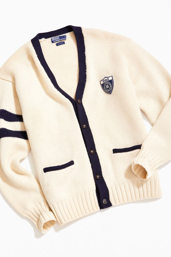 06f0b07cd048 Vintage Polo Ralph Lauren Cardigan | Urban Outfitters
