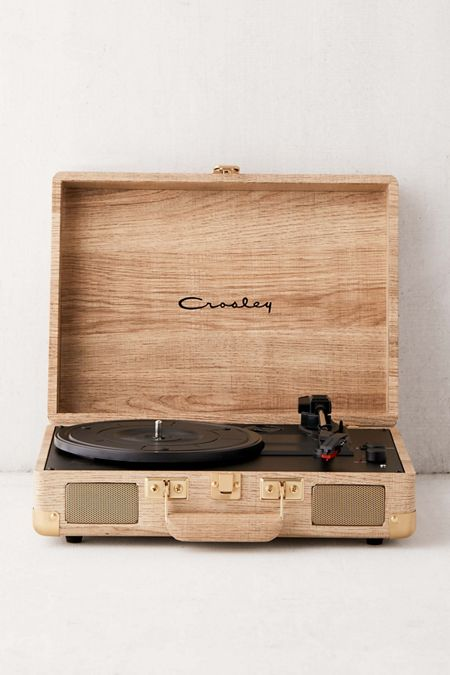 9a3d6c4ebbc50 Crosley UO Exclusive Wood Cruiser Bluetooth Record Player · Quick Shop