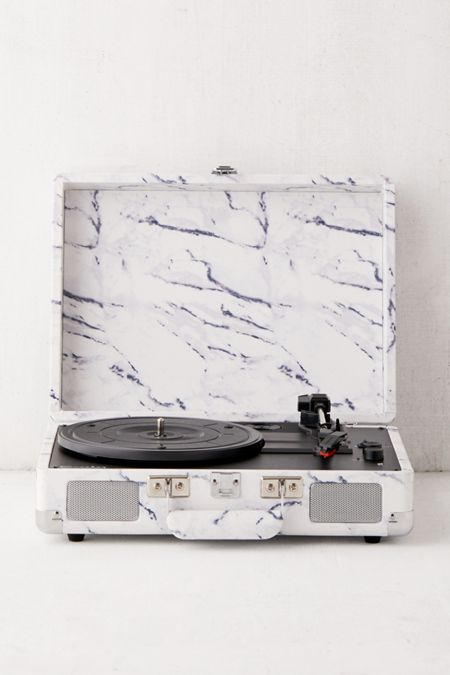 dd50cbc64da Crosley UO Exclusive Marble Cruiser Bluetooth Record Player