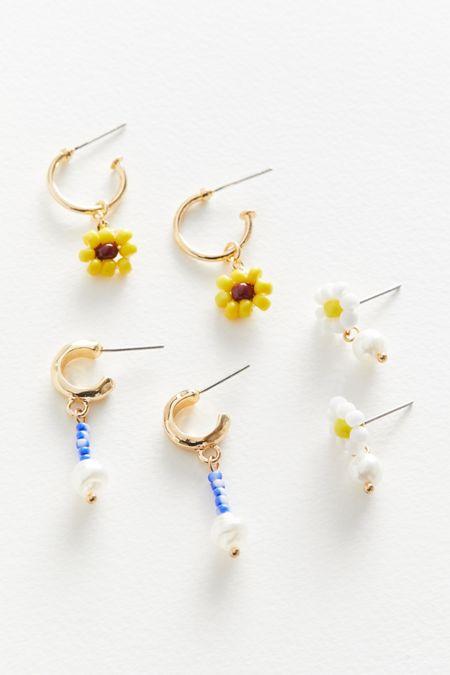Mina Beaded Earring Set 4de66a365b35