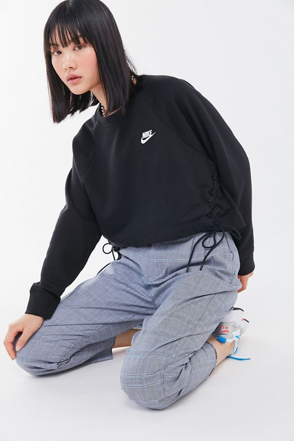 Nike Sportswear Lace Up Hem Sweatshirt