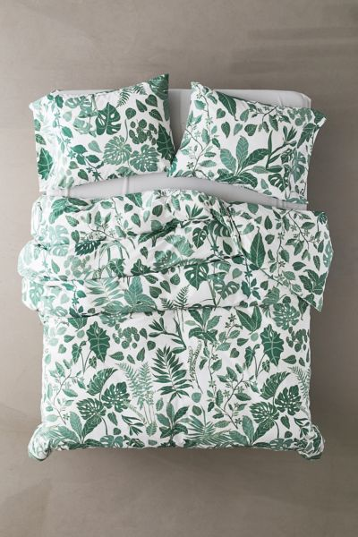 Greenery Duvet Set Urban Outfitters