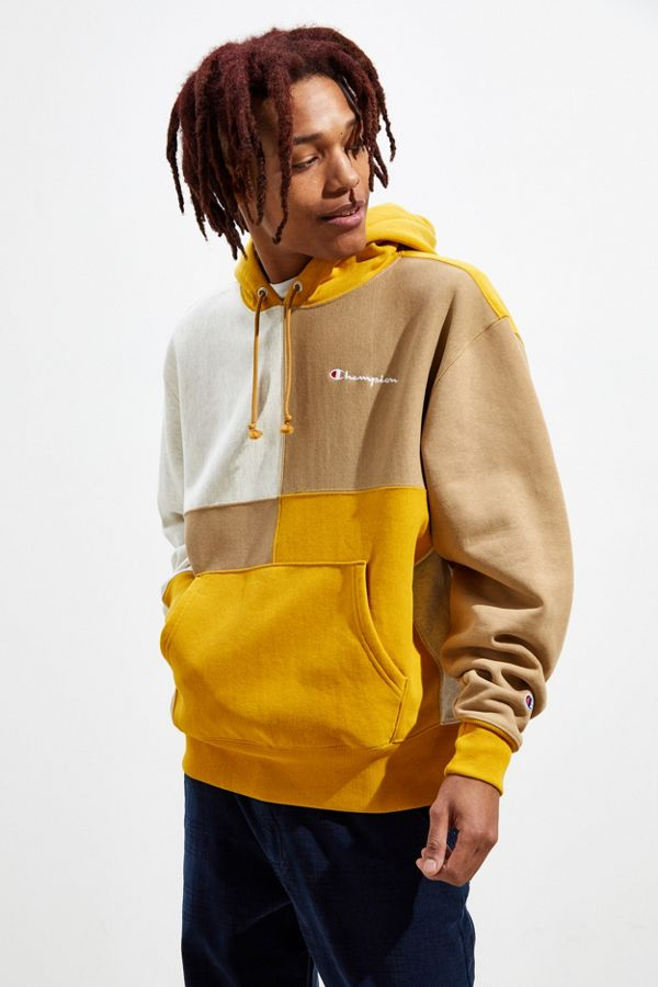 1a41031dc838 Slide View  2  Champion Colorblock Hoodie Sweatshirt