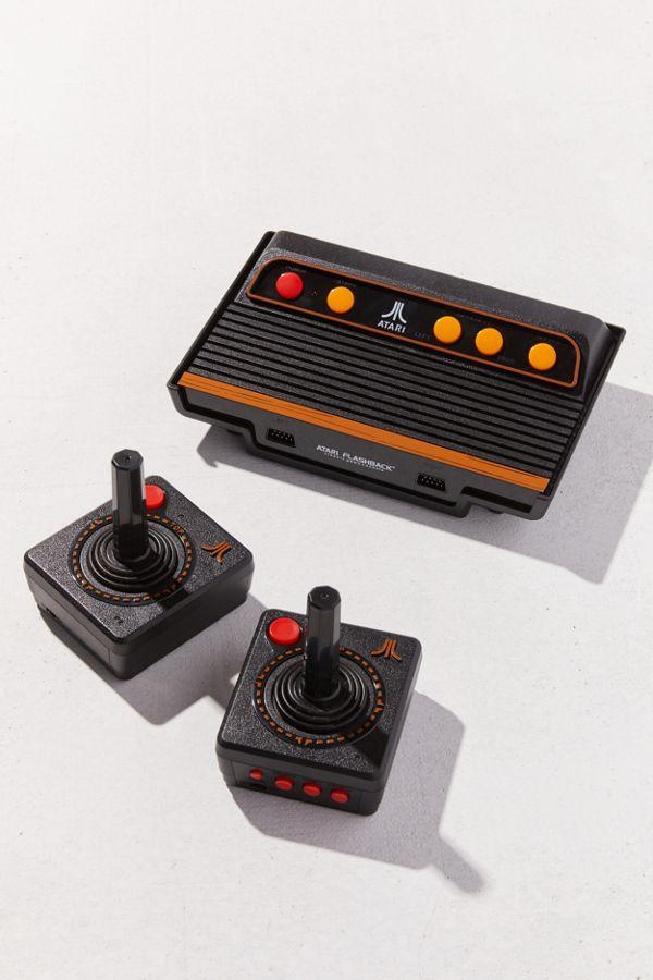 atari flashback 9  Atari Flashback 9 Gold Game Console + Controller Set | Urban Outfitters