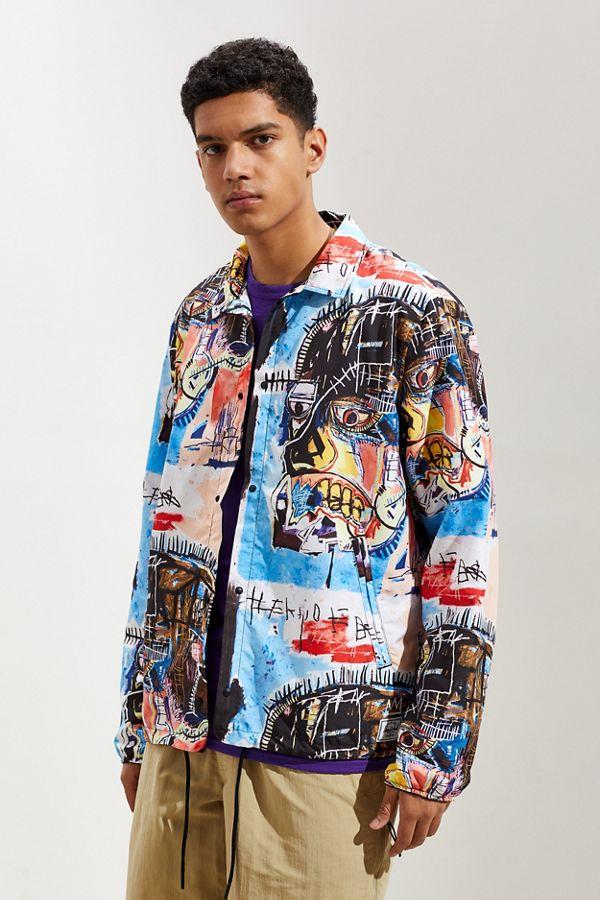 dc0a9591 Herschel Supply Co. X Basquiat Voyage Coaches Jacket