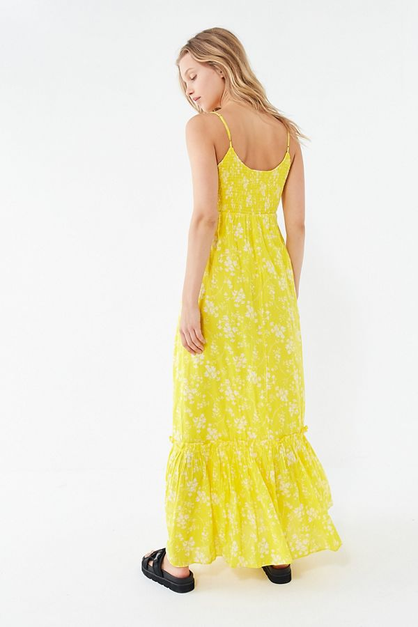 052fb4df7349e UO Carolina Floral Maxi Dress   Urban Outfitters