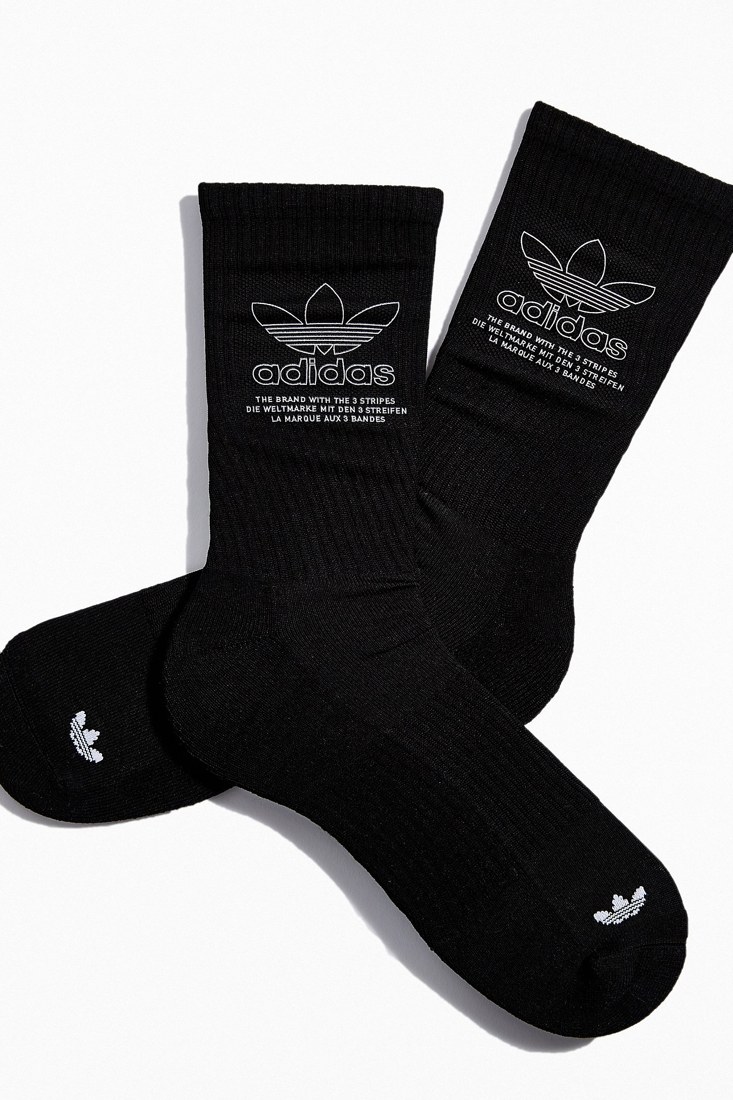 41bc5c1ed Double Tap to Zoom. Slide View: 4: adidas Originals Printed Crew Sock