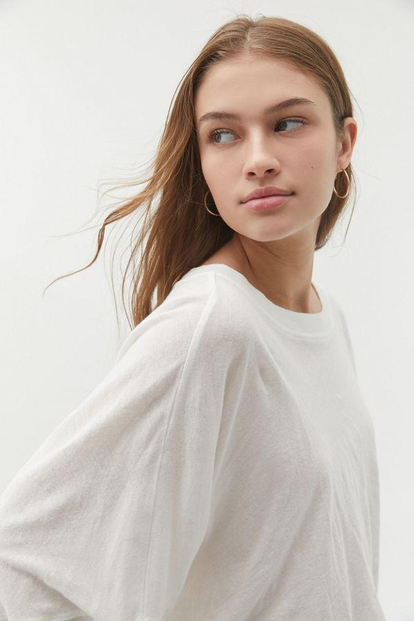 Out From Under Ella Long Sleeve Cropped Tee by Out From Under