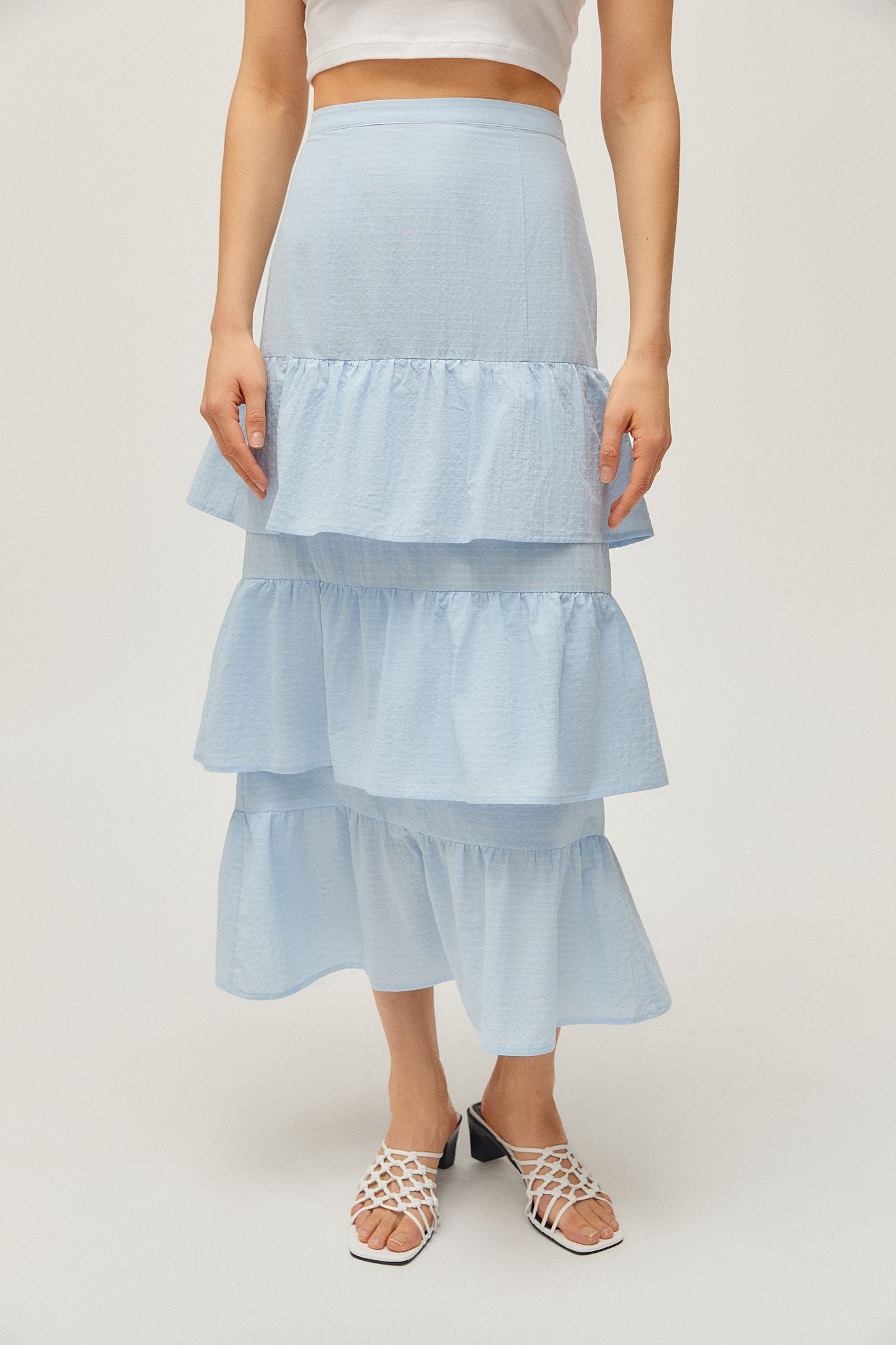 eadb86ac0 Capulet Lalaine Tiered Ruffle Maxi Skirt | Urban Outfitters