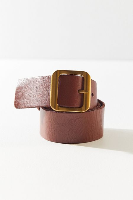 7439491116 Rainey Simple Leather Belt