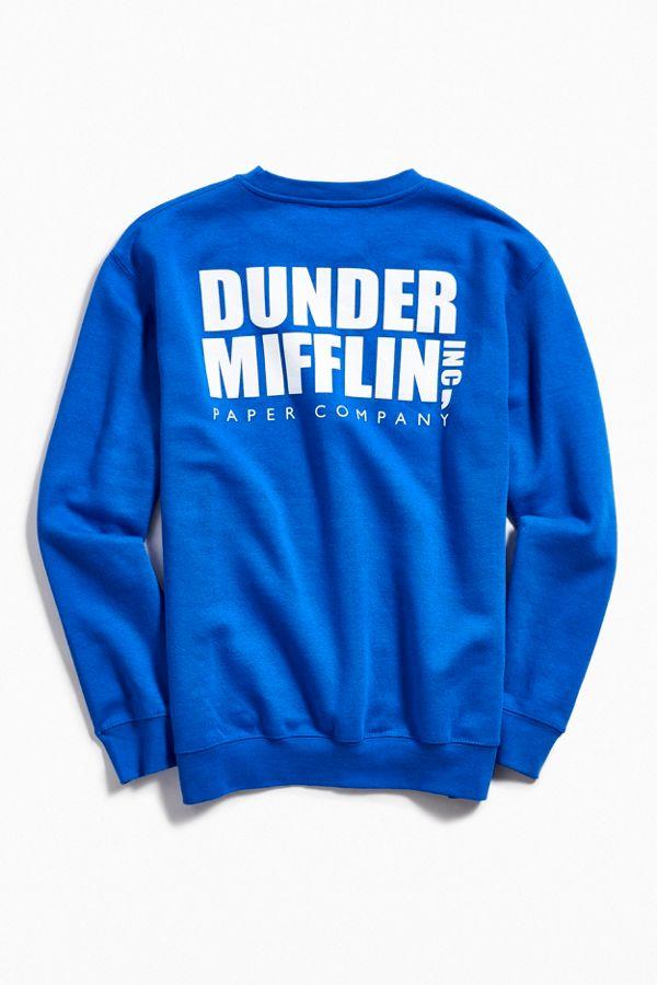 2547f2f0507d The Office Dunder Mifflin Crew Neck Sweatshirt