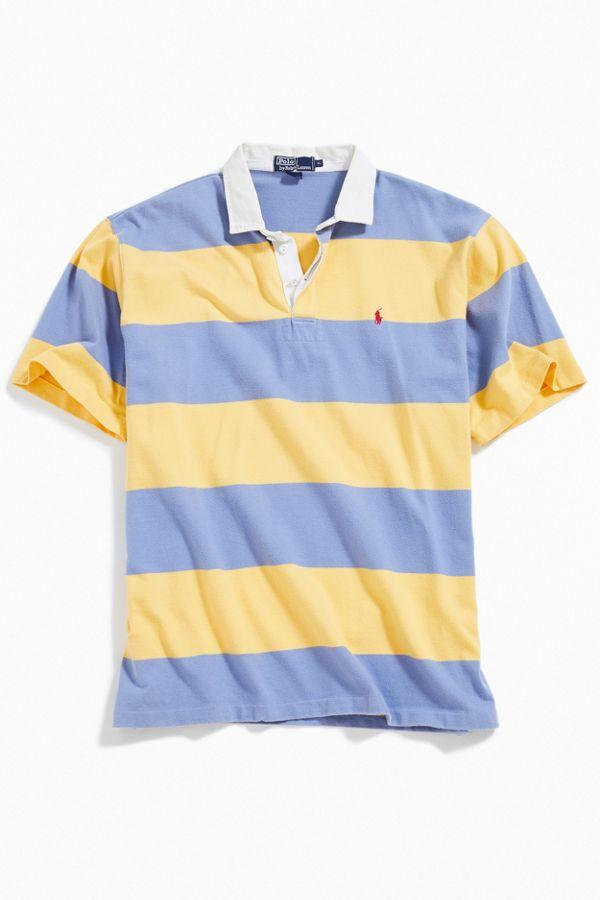 Lauren Short Shirt Vintage Ralph Sleeve Rugby Polo SVMqzUGp
