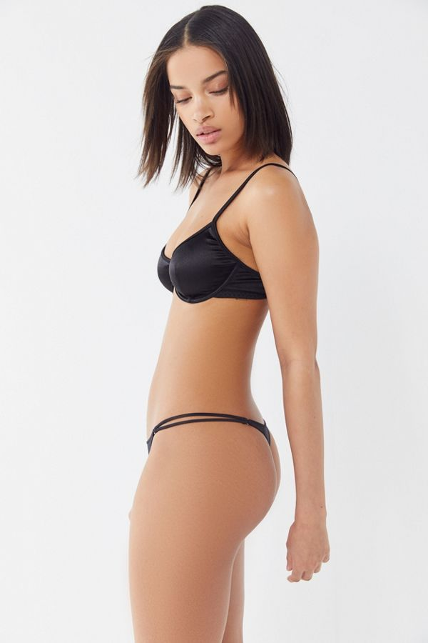 Out From Under Roxie Shine Thong by Out From Under