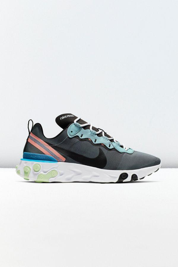 tienda oficial descuento más bajo nuevo estilo Nike React Element 55 Sneaker