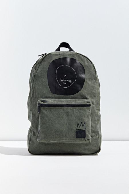 8eb5bd72e5 Black. Herschel Supply Co. X Basquiat Daypack Backpack