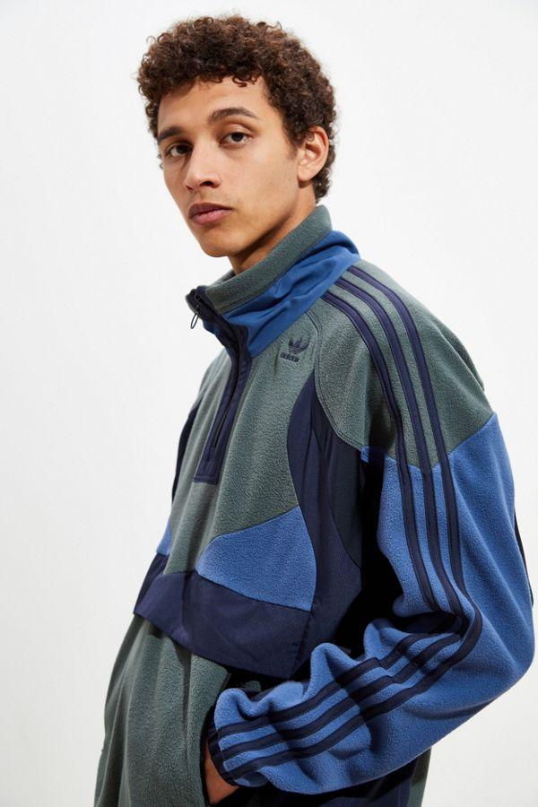 Adidas Uo Exclusive Polar Fleece Half Zip Sweatshirt by Adidas