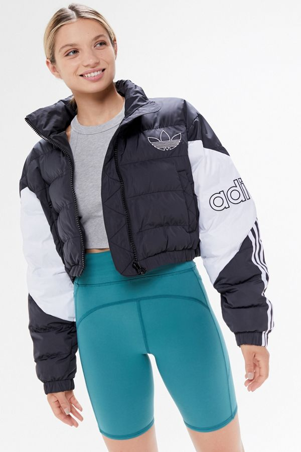 adidas UO Exclusive Cropped Puffer Jacket