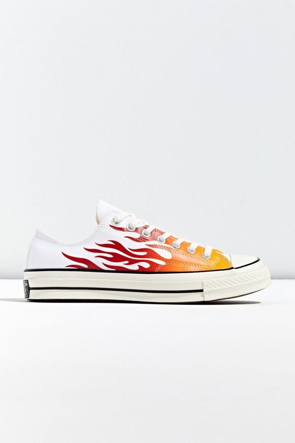 Converse Chuck 70 Archive Flame Print Low Top Sneaker