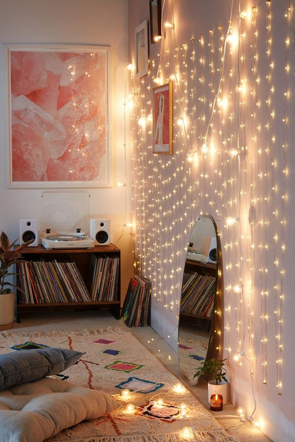 Slide View 1 Extra Long Copper Firefly String Lights