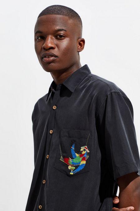 ee5f131c32b Bamboo Cay Always 5 O Clock Short Sleeve Button-Down Shirt