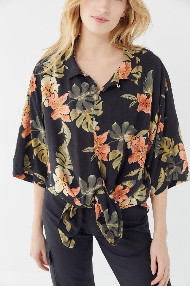 Vintage Oversized Hawaiian Shirt