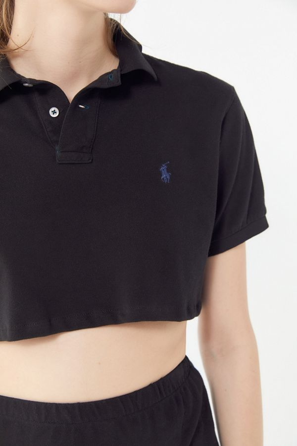 22f1846c12c Vintage Cropped Polo Shirt | Urban Outfitters