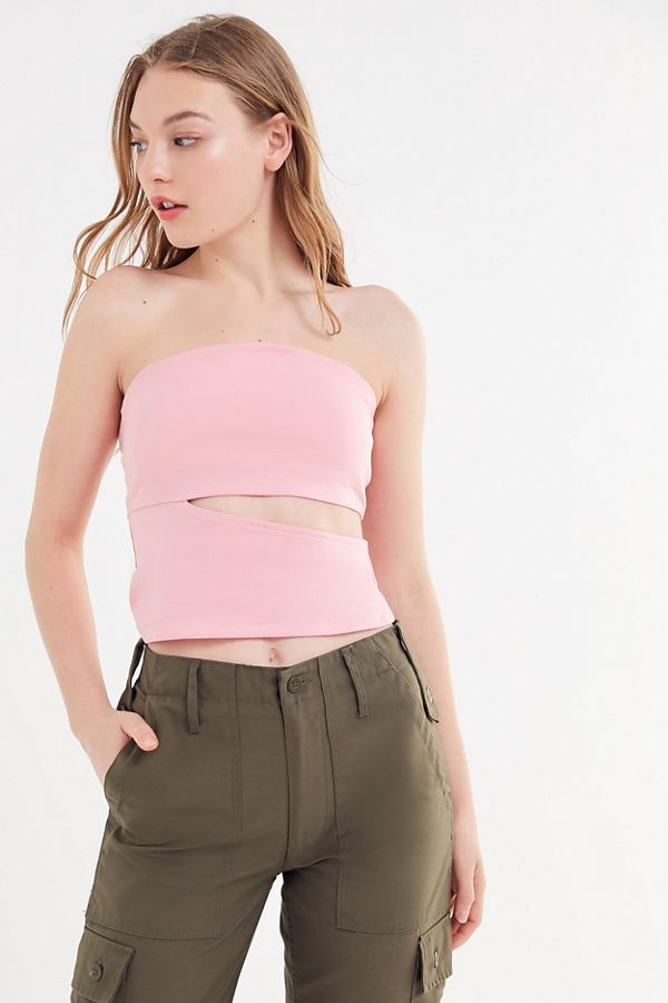 f4caaf78960 Project Social T Cutout Tube Top | Urban Outfitters
