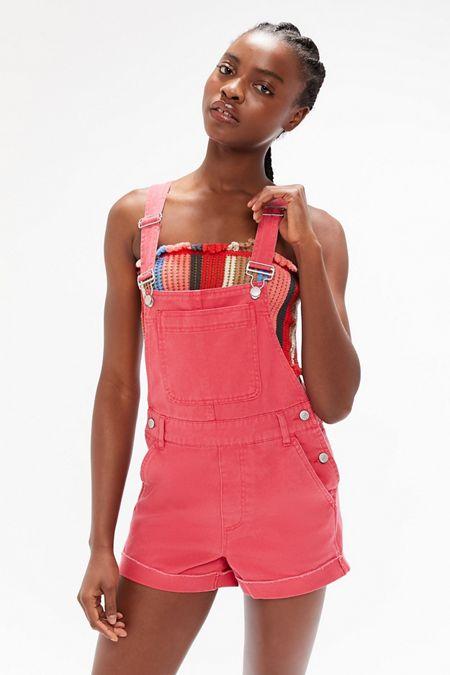 9cd72c43919 BDG Leila Denim Shortall Overall – Light Pink