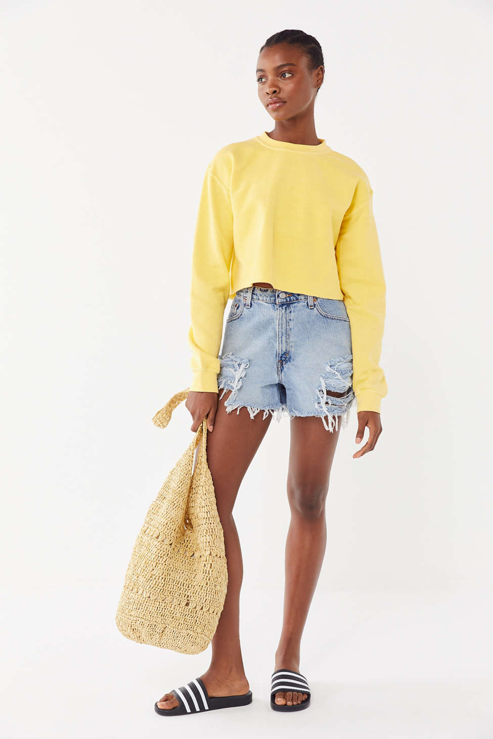 Project Social T It's All Good Cropped Tee by Project Social T