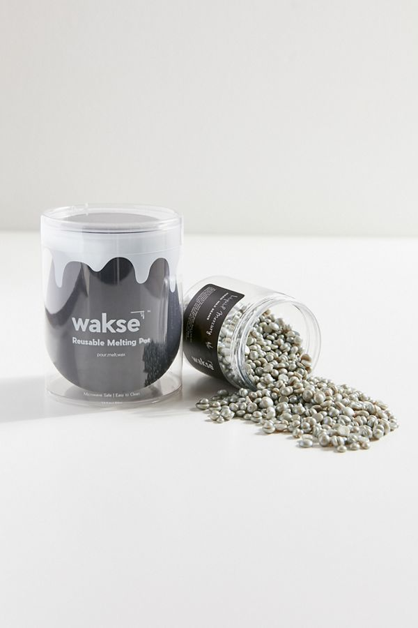 wakse Hard Wax + Reusable Melting Pot
