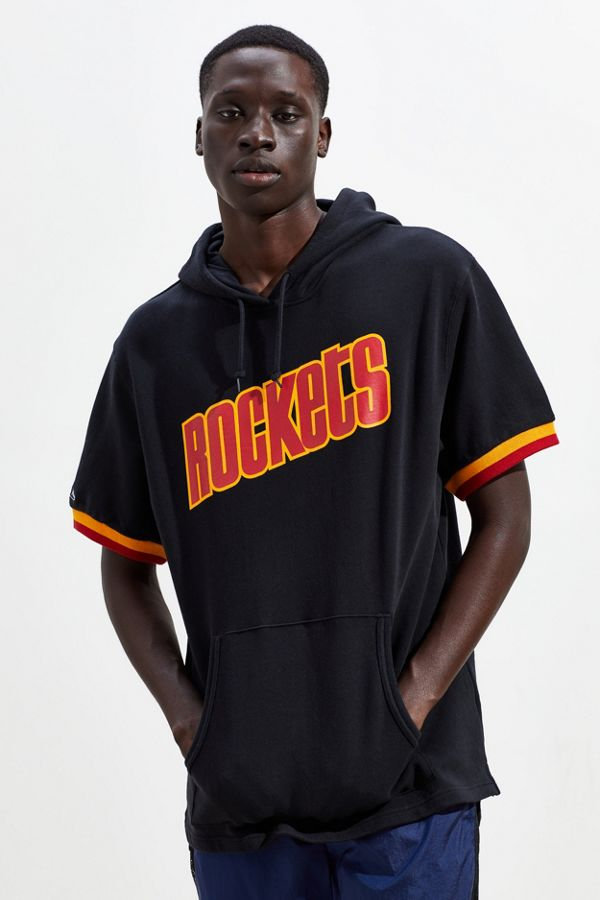 c508937df Slide View  1  Mitchell   Ness Houston Rockets Short Sleeve Hoodie  Sweatshirt