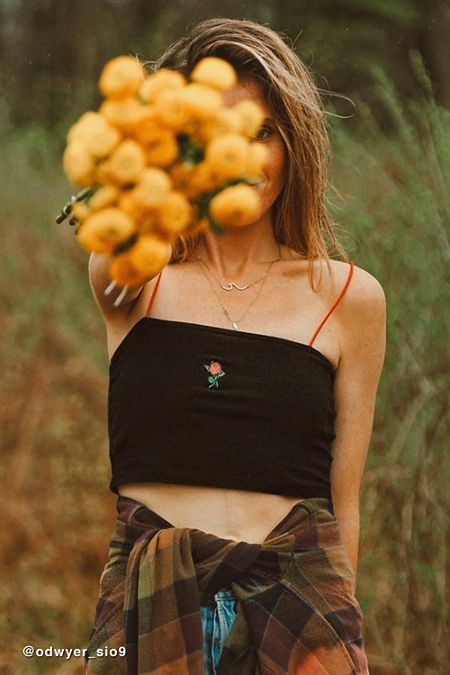 28cf533409fc58 Truly Madly Deeply Rose Cropped Tank Top