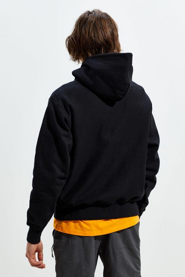 a7eff531f8c6 Slide View  4  Champion Chain Stitch Script Hoodie Sweatshirt