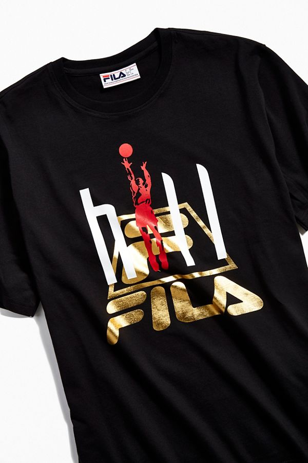 d6f38f521039a FILA X Grant Hill Posterized Tee   Urban Outfitters