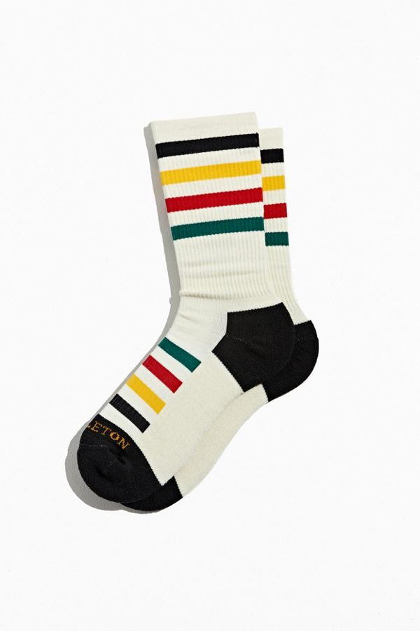 Pendleton National Park Stripe Crew Sock by Pendleton