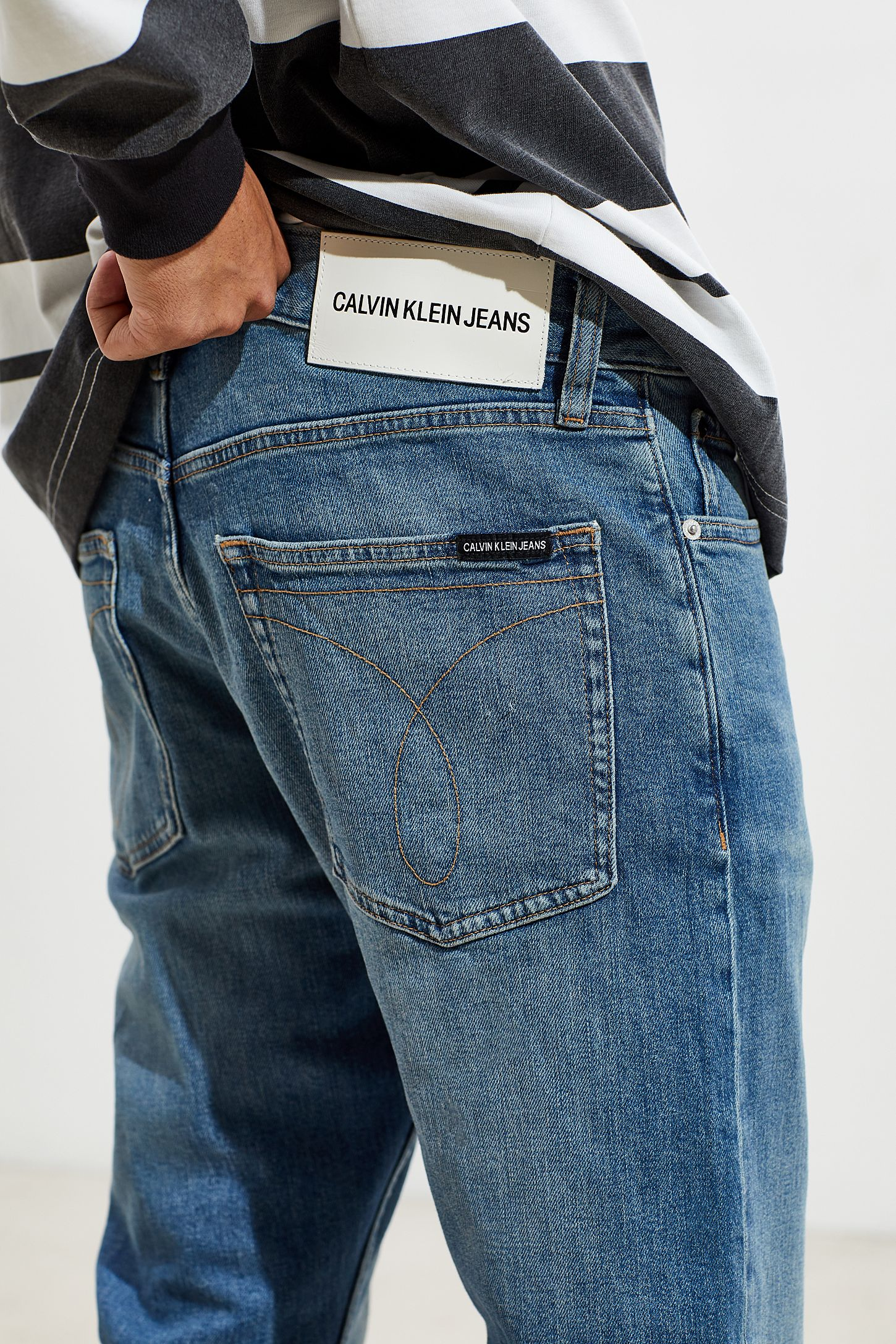 informazioni per 0b301 ade58 Calvin Klein Ruby Blue Slim Jean