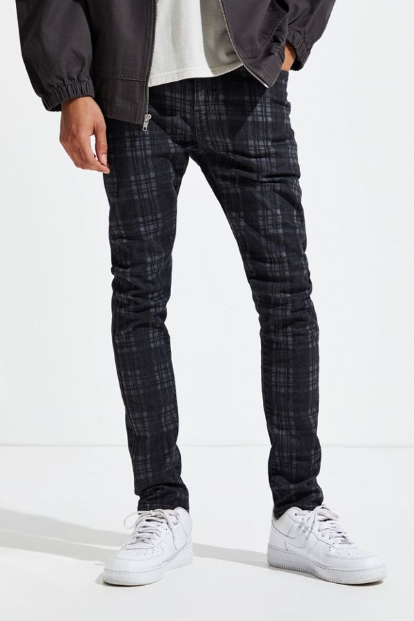 Levi's 510 Deathcap Plaid Skinny Jean by Levi's