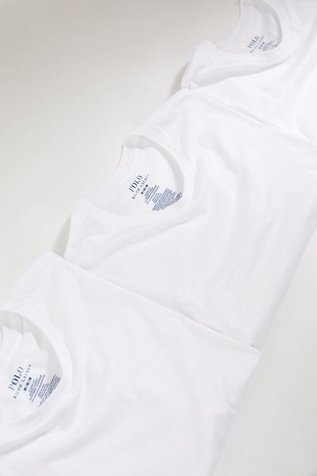 ed9c939ee Polo Ralph Lauren Classic Fit Tee 3-Pack