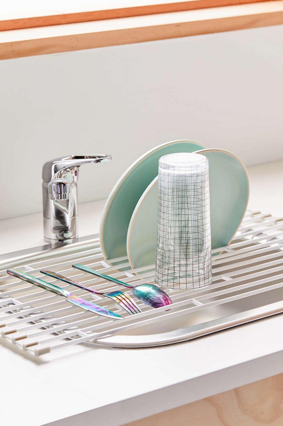 Over The Sink Foldup Drying Rack by Yamazaki