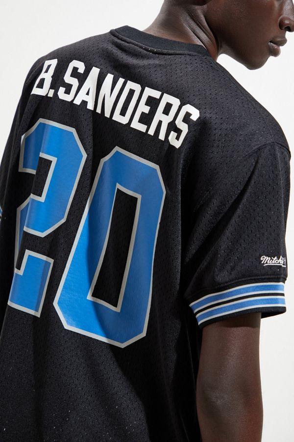 best website 22641 86dfa Mitchell & Ness Detroit Lions Barry Sanders Football Jersey