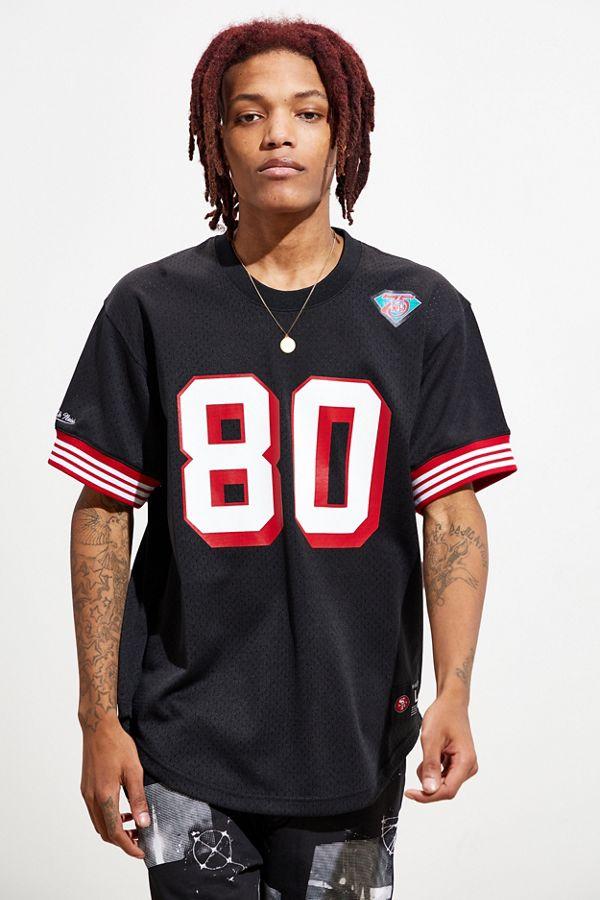 sale retailer d6038 c07e4 Mitchell & Ness San Francisco 49ers Jerry Rice Jersey Tee