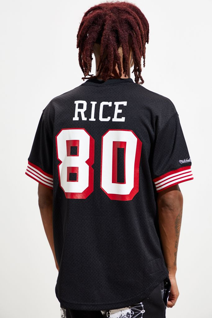 Mitchell Ness San Francisco 49ers Jerry Rice Jersey Tee Urban Outfitters