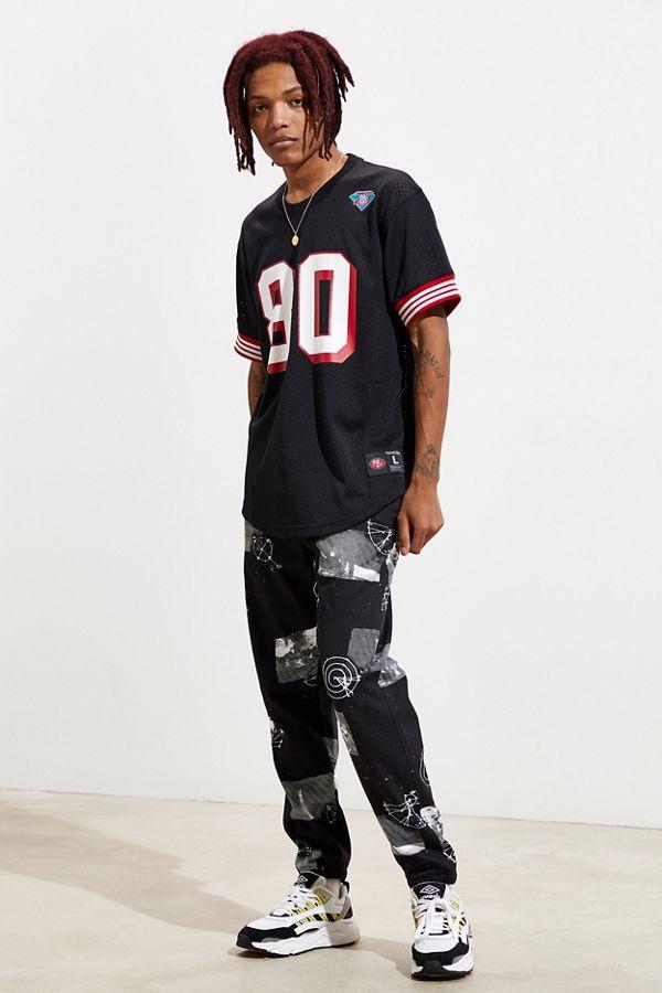 sale retailer 413b8 4687a Mitchell & Ness San Francisco 49ers Jerry Rice Jersey Tee