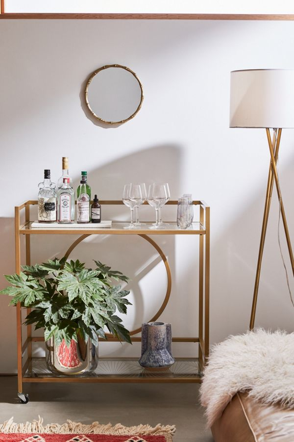 Slide View: 1: Claire Bar Cart