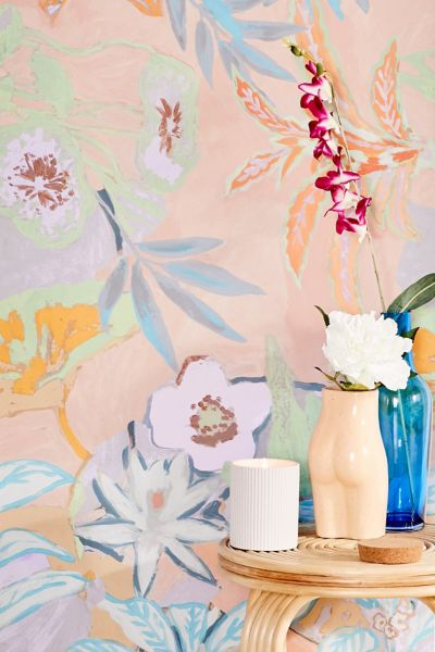Clara Jungle Removable Wallpaper Urban Outfitters