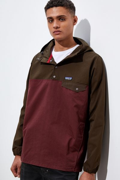 Patagonia Maple Grove Snap T Pullover Windbreaker Jacket ...