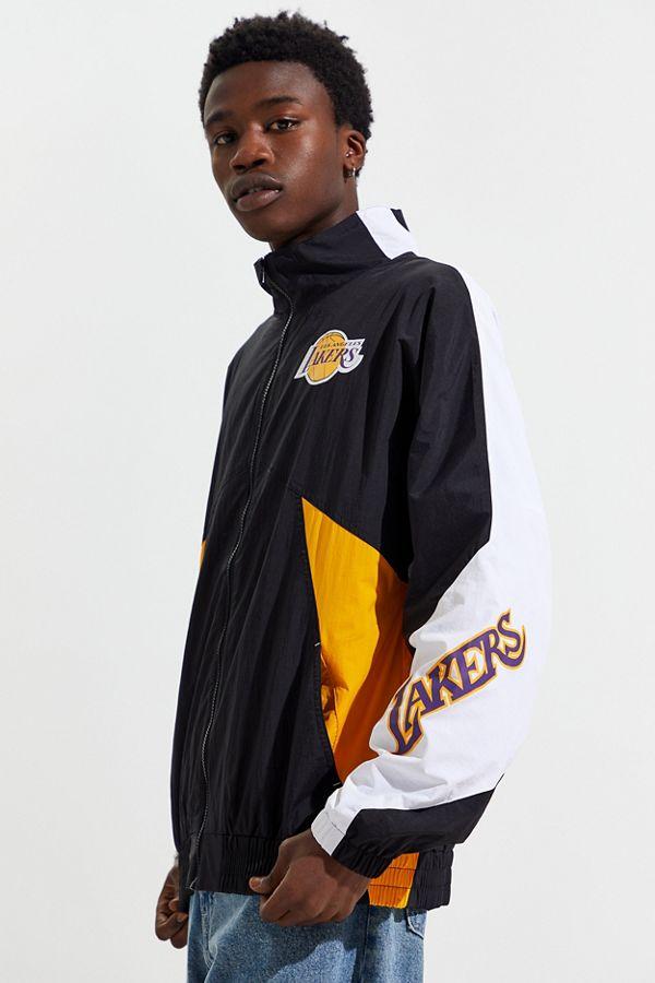 Mitchell & Ness Los Angeles Lakers Midseason Windbreaker Jacket by Mitchell & Ness